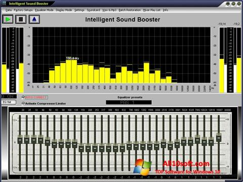 Screenshot Sound Booster Windows 10