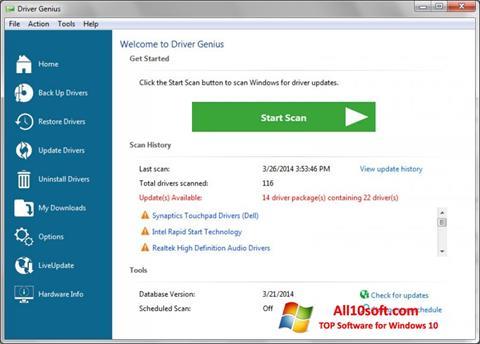 Screenshot Driver Genius Professional Windows 10