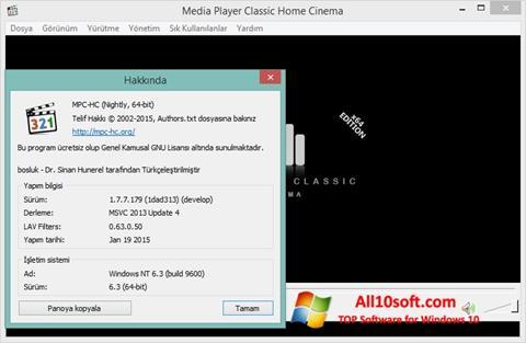 Screenshot K-Lite Codec Pack Windows 10