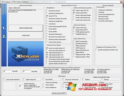 Screenshot 3D-Analyze Windows 10