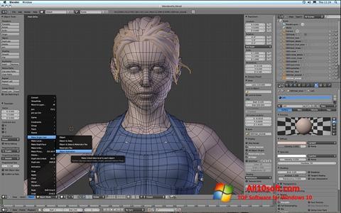 Screenshot Blender Windows 10