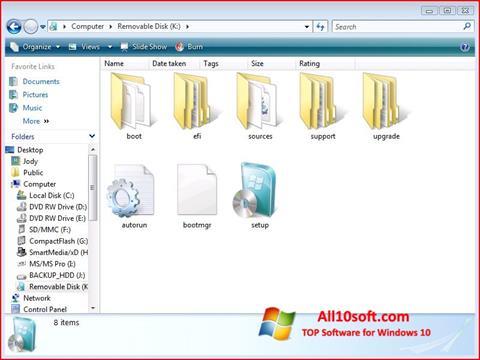 Screenshot Windows 7 USB DVD Download Tool Windows 10