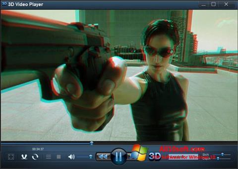 Screenshot 3D Video Player Windows 10