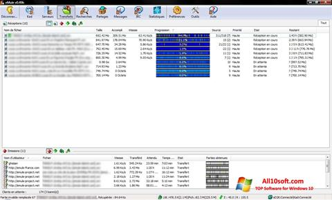 Screenshot eMule Windows 10