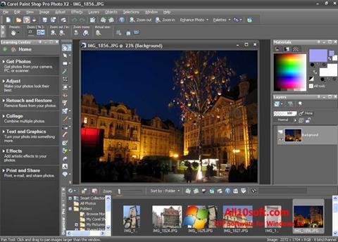 Screenshot PaintShop Pro Windows 10