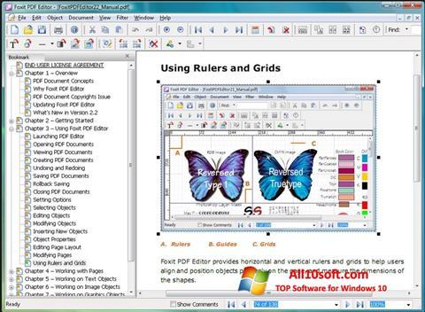 Screenshot Foxit PDF Editor Windows 10