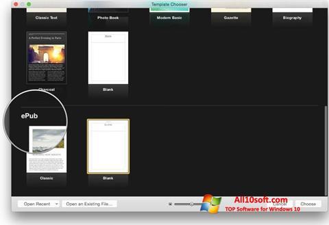 Screenshot iBooks Windows 10