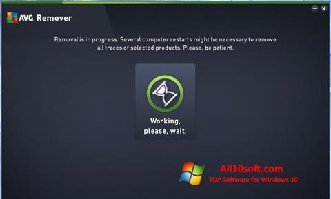 Screenshot AVG Remover Windows 10