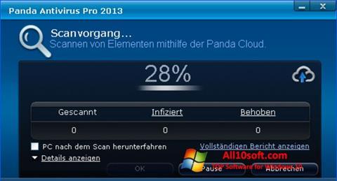 Screenshot Panda Antivirus Pro Windows 10