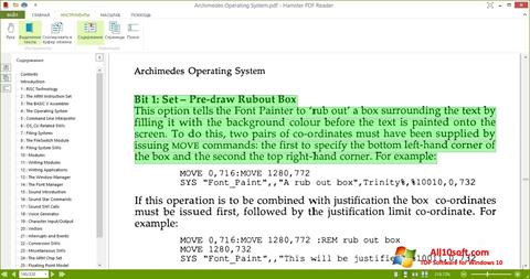 Screenshot Hamster PDF Reader Windows 10