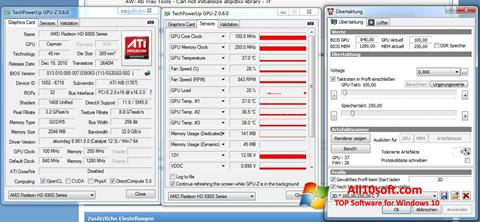 Screenshot ATI Tray Tools Windows 10