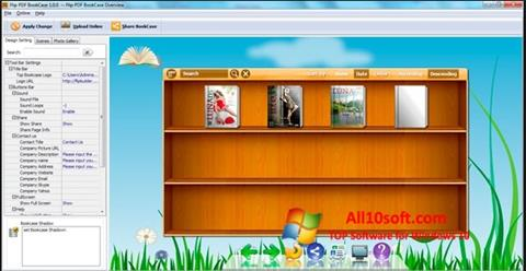 Screenshot Bookshelf Windows 10