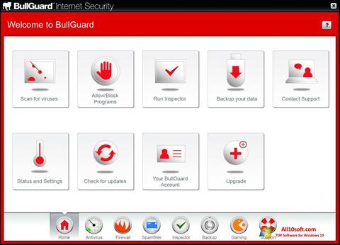Screenshot BullGuard Windows 10