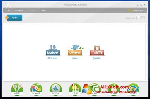 Screenshot Freemake Audio Converter Windows 10