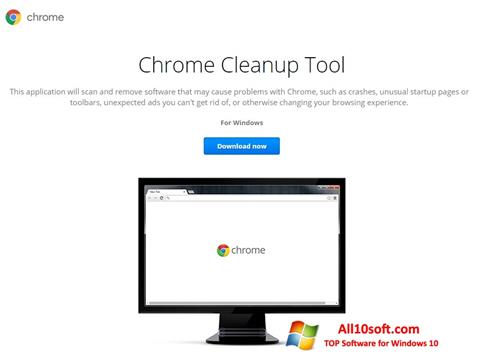 Screenshot Chrome Cleanup Tool Windows 10