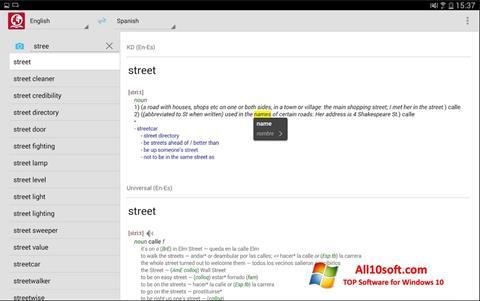 Screenshot ABBYY Lingvo Windows 10