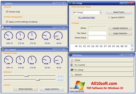 Screenshot ClockGen Windows 10