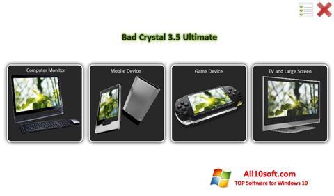 Screenshot Bad Crystal Windows 10