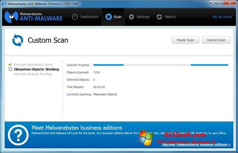 Screenshot Malwarebytes Anti-Malware Windows 10