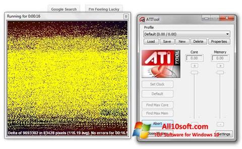 Screenshot ATITool Windows 10