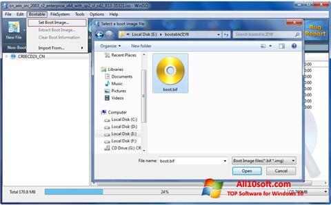 Screenshot WinISO Windows 10
