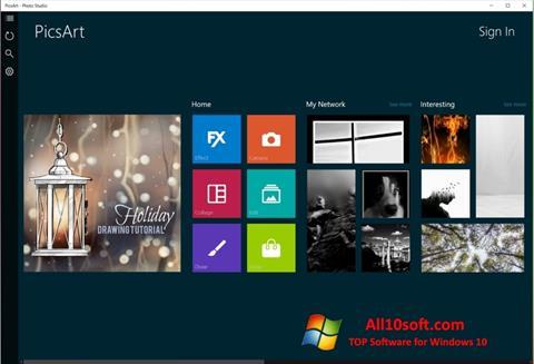 Screenshot PicsArt Windows 10