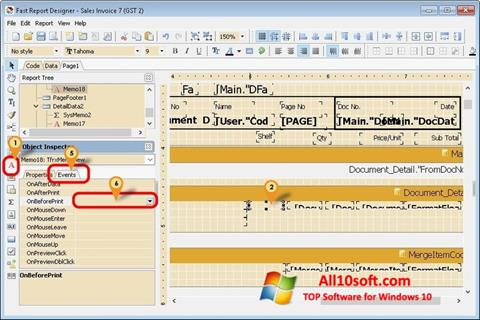 Screenshot FastReport Windows 10