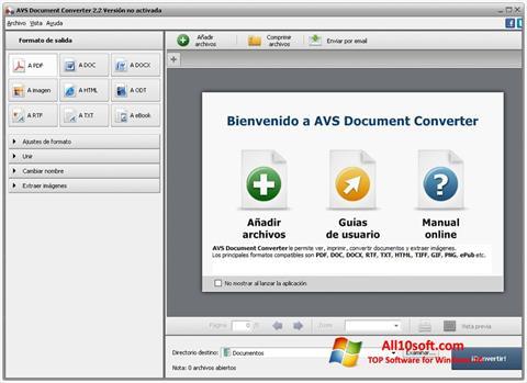 Screenshot AVS Document Converter Windows 10
