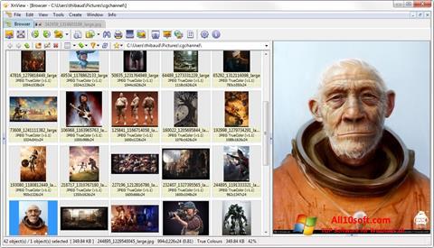 Screenshot XnView Windows 10