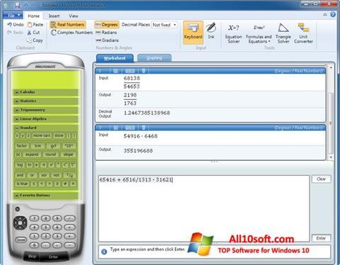 Screenshot Microsoft Mathematics Windows 10