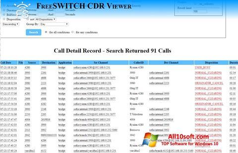 Screenshot CDR Viewer Windows 10