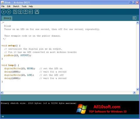 Screenshot Arduino Windows 10